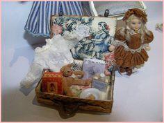 Petite mallette naissance  échelle 112ème pour par Beatrice5804, $63.00