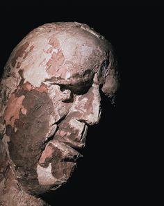 Homage to Marino Marini - portraits of portraits on Behance