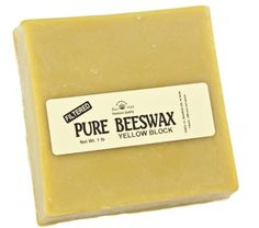 Stakich 1 lb Pure Yellow BEESWAX Block - Craft Grade, Top Quality - Stakich http://www.amazon.com/dp/B00F3CNMV4/ref=cm_sw_r_pi_dp_i2DZtb1G5M0823KN