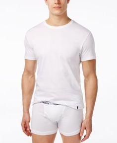 Polo Ralph Lauren 3-Pack +1 Bonus, Crew Neck Tee Shirt - White XL