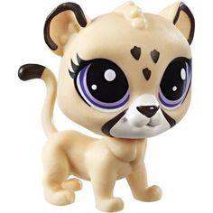 Littlest Pet Shop Single Pet (Jaguar), Brown