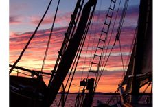 Windjamming is... enjoying the beautiful sunsets. #ThisIsWindjamming  www.sailmainecoast.com