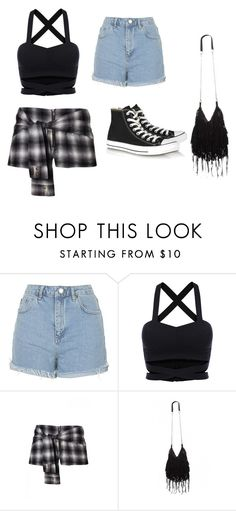 """Fair outfit"" by dreamgurl-846 on Polyvore featuring Topshop and Converse"