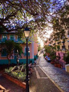Antigua Plaza de las Monjas, San Juan, Puerto Rico