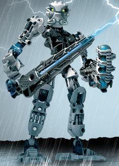 Set 8732 Toa Matoro is a canister set released in 2006 portraying Toa Matoro, the Toa Inika of Ice. Bionicle Heroes, Lego Bionicle, Lego Robot, Robots, Godzilla, Gundam, Cool Toys, Legos, Lego Stuff