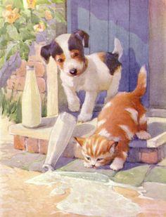 A. E. Kennedy illustration | eBay