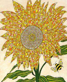 Georgia Sunflower by Valerie Lorimer