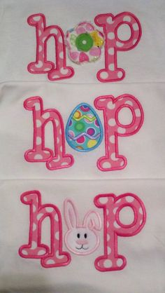 Funky Hop Machine Applique Design by TheAppliqueJunkie on Etsy, $5.00
