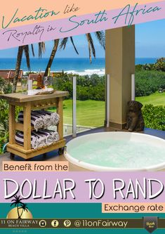 Plan a vacation to South Africa - 11 On Fairway Beach Villa, South Africa, Vacation, How To Plan, Outdoor Decor, Vacations, Holiday