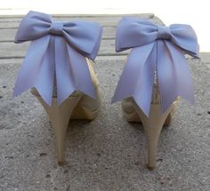 Wedding Shoe Clips MANY COLORS AVAILABLE Bridal by ShoeClipsOnly