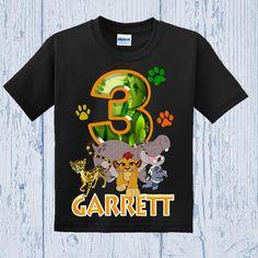 Lion Guard Birthday Shirt Lion Guard Shirt by FashionistaStylez