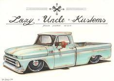 '64 Chevy C10 by DominikScherrer