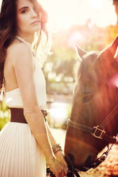 light, horse, dress.  everything.