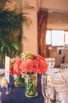 Coral Chrysanthemum and Succulent Centerpieces Wedding Week, Destination Wedding, Wedding Venues, Wedding Planning, Wedding Ideas, Coral Centerpieces, Succulent Centerpieces, Sage Wedding, Coral And Gold
