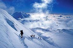 climbing denali | Alaska Mountaineering School Denali Traverse Expedition