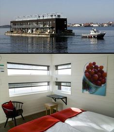The Floating Hotel in Sweden