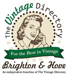A guest post today! Say howdy to Faye of The Vintage Directory Brighton & Hove (East & West Sussex) . Shabby Chic Furniture, Vintage Furniture, Brighton And Hove, Post Today, Guide Book, Tea Party, Retro, Prints, Free Uk