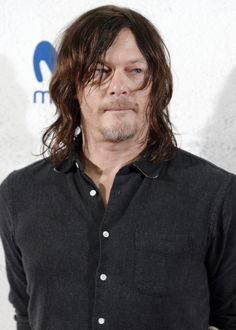"""""""Norman Reedus attends 'The Walking Dead' Eurotour photocall on March 9, 2017 in Madrid, Spain"""" 