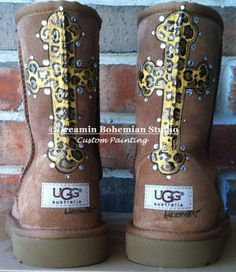 f1977b78652 21 Best Uggs that I painted for my daughter! images