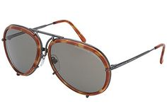 Porsche Sunglasses Aviator 8613 D w/ 2 Sets of Lenses Titanium *** Check this awesome product by going to the link at the image.