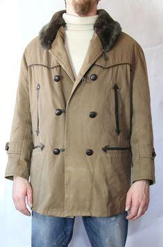 Coat Mackinaw VTG Barnstormer Veste Canadienne Canvas Chore Jacket SZ L | eBay
