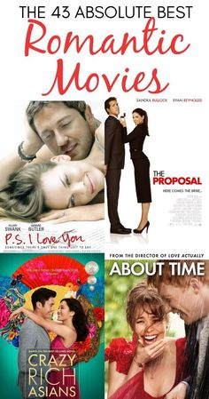 The 43 Best Romantic Movies (& 5 to Avoid!) - - Enjoy the best Romantic Movies of all time for an epic movie night! We've included the classic chick flicks, rom coms, and must-see romantic comedies! Love Quotes Movies, Quote Movie, Comedy Movie Quotes, Classic Comedy Movies, Comedy Movies On Netflix, Action Comedy Movies, Classic Comedies, Dc Movies, Good Movies
