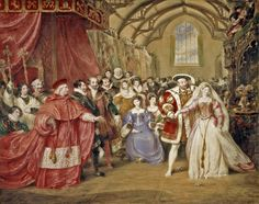 The Banquet of Henry VIII in York Place (Whitehall Palace) (1832)