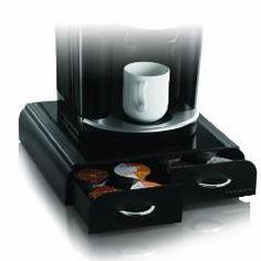 "Mind Reader VUETRY01-BLK ""Anchor""Coffee Pod Storage Drawer for"