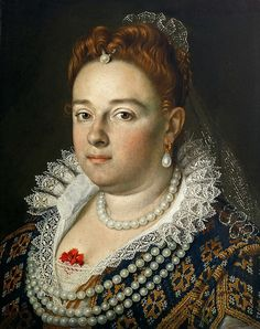 Scipione Pulzone - 1584-1585 (probable) Bianca Cappello, Grand Duchess of Tuscany | por Faces of Ancient Europe