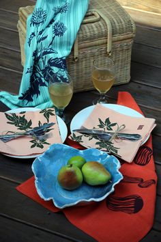Outdoor dining with Gypsy Sisters Studio