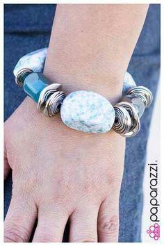 In Good Glaze-Blue bracelet  sold separately @$5