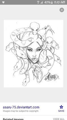Medusa drawings More