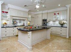 Mẫu trần thạch cao phòng bếp 10