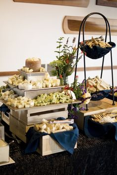 Twelve Baskets Catering - Cheese Display