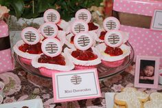 Pink & Brown Baptism Party Ideas | Photo 2 of 17 | Catch My Party