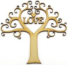 Heart tree with love http://www.lornajayne.co.uk/