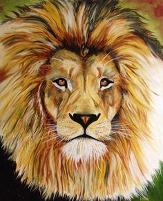 Prophetic art ..... Lion of the tribe of Judah