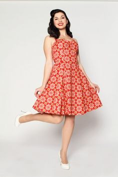 The Dahlia Dress from Heartbreaker. With a shrug or a cardigan, and wedges or flip flops. Or white Keds.