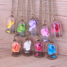 Cheap flower glass pendant, Buy Quality flower pendant directly from China flowers in glass Suppliers: Dried Flowers In Glass Necklace Long Chains Jewelry Vintage Multicolor Handmade Pendant Necklace For Women Quartz Crystal Necklace, Glass Necklace, Pendant Necklace, Diamond Initial Necklace, Monogram Necklace, Cute Jewelry, Vintage Jewelry, Silver Jewelry, Bff Necklaces