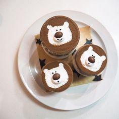 Bear Art, Cafe Food, Aesthetic Food, Macarons, Food Inspiration, Coffee Shop, Foodies, Buffet, Sweets