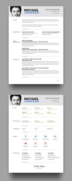 template professional cv cv templates sample template example of beautiful excellent
