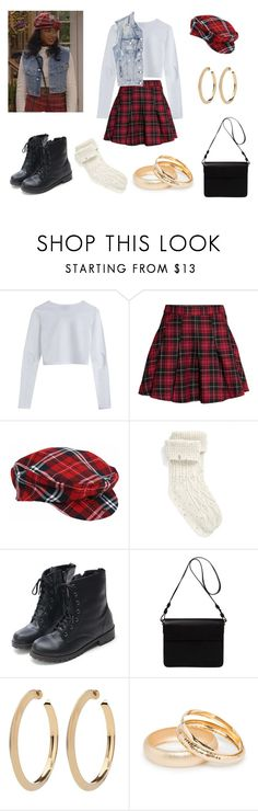 """Ashley Banks costume !"" by milena-serranista ❤ liked on Polyvore featuring H&M, UGG, Orla Kiely and MANGO"
