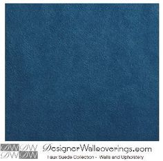 Ralph Suede - Solid Faux Suede  [SDP-72390] Faux Suede for Walls, Furniture. | Color: Blue Dark Blue Teal Dark Teal | DesignerWallcoverings.com | Luxury Wallpaper | @DW_LosAngeles | #Custom #Wallpaper #Wallcovering #Interiors