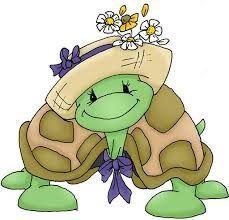 Iba una tortuga por la capital. Iba despistada con tanto autocar. Buscaba una tienda quería comprar un sombrero nuevo y medias un par. Se compró un sombrero y tan elegante salió de la tienda. Pas…