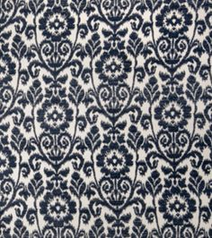 8''x8'' Home Decor Fabric Swatch-Upholstery Fabric Eaton Square Herald Navy, , hi-res