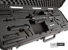 Universal AR Rifle Case - CaseCruzer