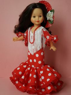 Ken Doll, Ag Dolls, Cute Dolls, Doll Costume, Costumes, Spanish Costume, Girl Doll Clothes, Vintage Dolls, American Girl