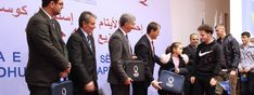 The Qatar Charity Office in Kosovo distributed 430 laptops to Orphans Sponsored by the philanthropists of Qatar at a ceremony, which marked the tenth anniversary of Independence of Kosovo.