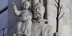 Der heilige Christophorus: einer der vierzehn Nothelfer (Quelle: imago)