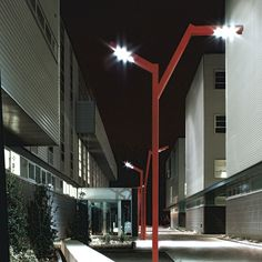 Lampione stradale / moderno / in metallo / LED - BOTREE by Studio Ferrara, Palladino & Associati - FontanaArte